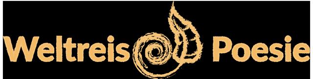Weltreise Poesie Footer Logo - Icon in der Mitte