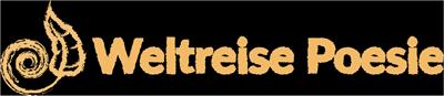Weltreise Poesie Header Logo (braun)