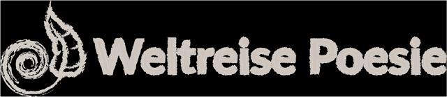 Weltreise Poesie Header Logo (Grau)