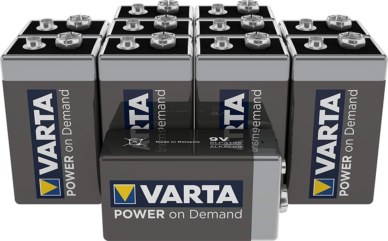 Weltreise: 9V Batterien für Deine Geräte