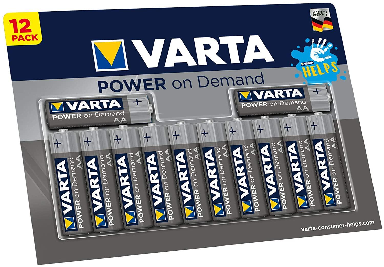 Weltreise: AA Batterien für Deine Geräte