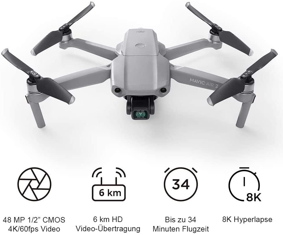 Semipro Drohne für Deine Weltreise