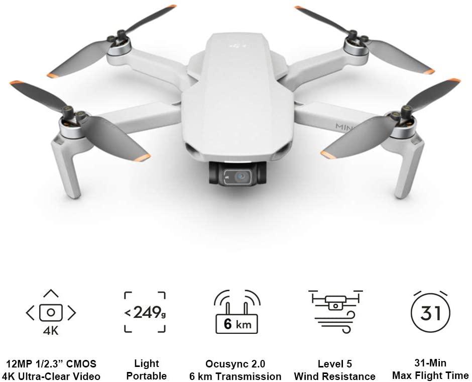 Einsteiger Drohne für Deine Weltreise