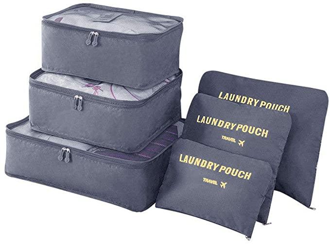 Praktische Packwürfel für Deine Weltreise müssen vor allem leicht sein