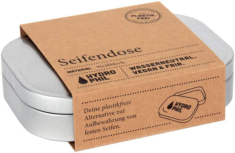Seifendose zum verstauen Deiner Seife während Deiner Weltreise