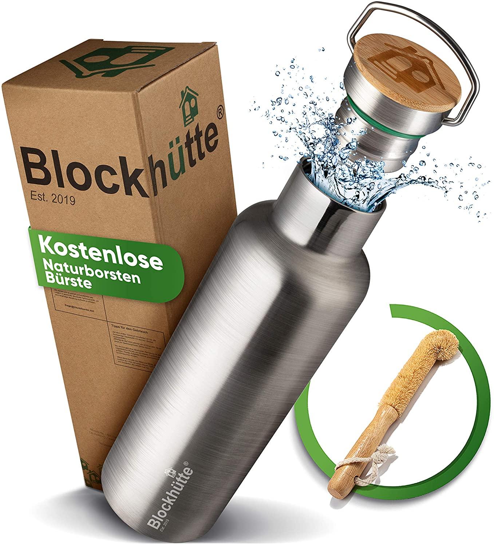 Mit einer eigenen Trinkflasche sparst Du Plastik